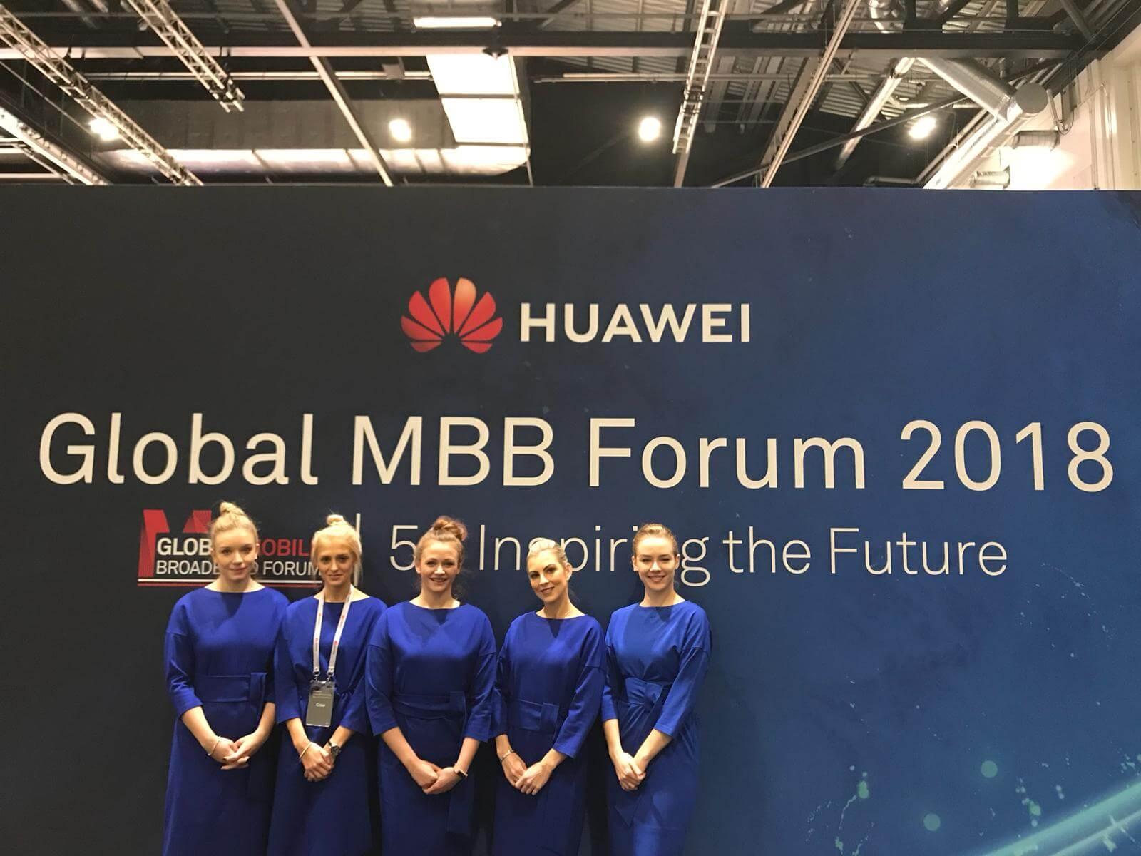 Huawei Global MBB Forum Hostesses